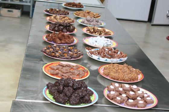 Eindresultaat workshop bonbons maken