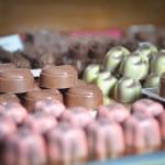 Bonbons in vitrine