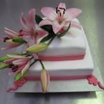 Bruidstaart lelies