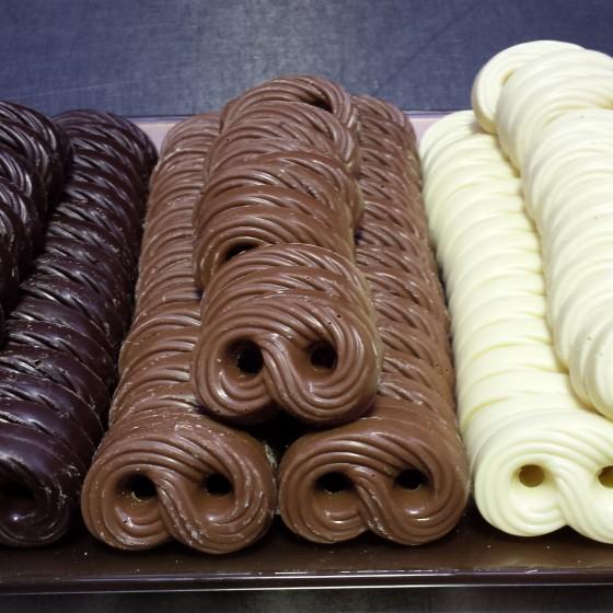 Chocolade krakeling