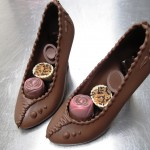 Chocolade pumps gevuld