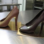 Chocolade pumps  ongevuld