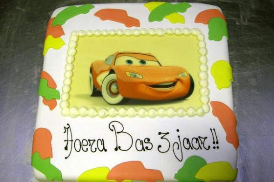 Cars taart 2