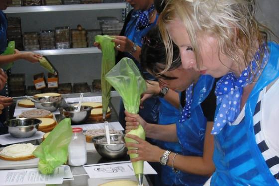 workshop taarten maken vullen