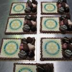 Chocolade plateau rotary logo