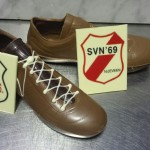 Logo + schoen