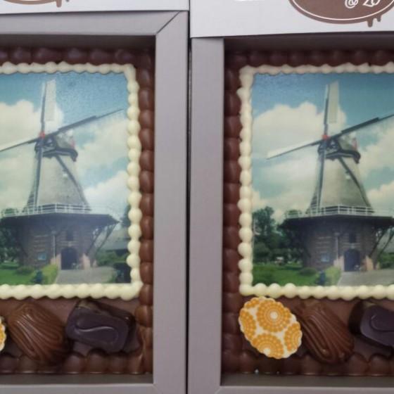 chocolade foto molen