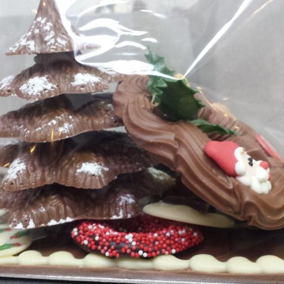 chocolade kerst tafereel (2)