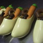 gevulde chocolade klomp