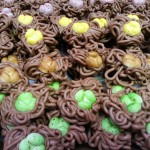 Roomchocolade nestjes