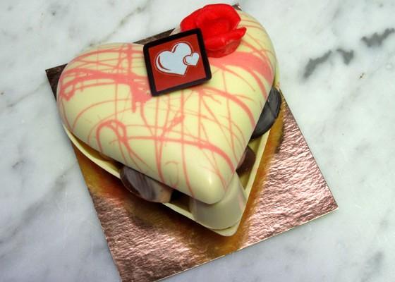 Chocolade hart gevuld