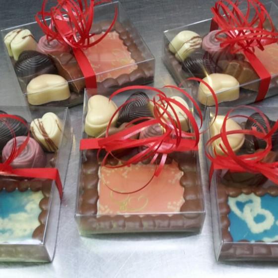 Valentijn Chocolade plateau