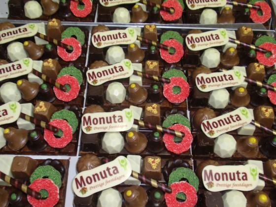 Kerst chocolade geschenk met logo