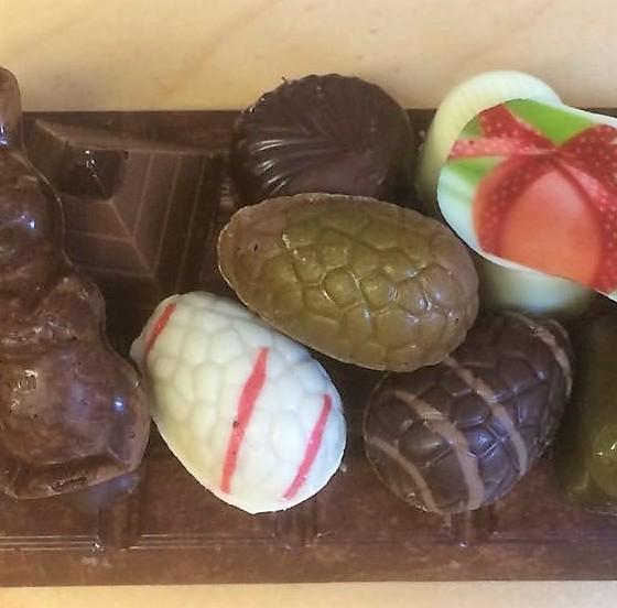Chocolade paas plateau 2