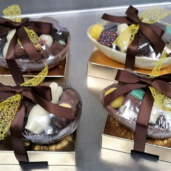 Gevulde paas chocolade eieren