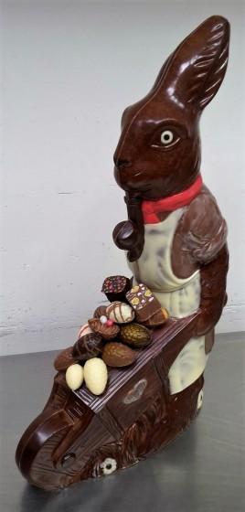 chocolade paas haas kruiwagen 2