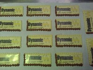 Chocolade-bedrijfslogo