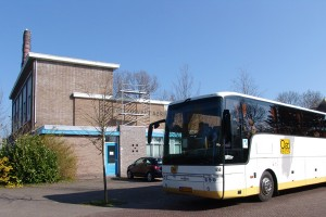 Demonstratie-chocolade-bus