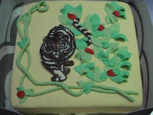 Tijger-taart